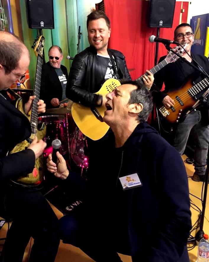 DUST et Jean-Luc Reichmann en improvisation à la Foire du Trône !